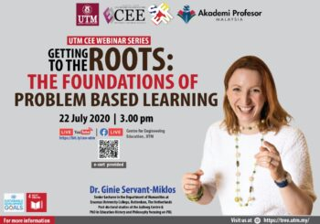 🔎GETTING TO THE ROOTS: THE FOUNDATION OF PROBLEM-BASED LEARNING🔎