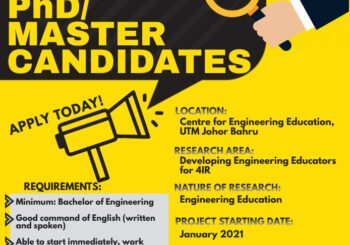 Let's become CEE's Postgraduate Student