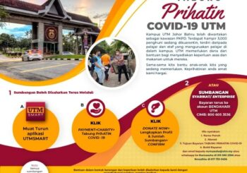 COVID-19 PRIHATIN FUND: UTM CALLS FOR AID AND DDVCRI WILL ANSWER